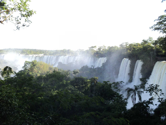 Guaíra Falls no longer exists, Iguazu is now the largest in S.America.
